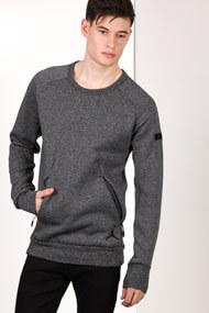 Jordan - Sweatshirt - Heather Dark Grey + Black