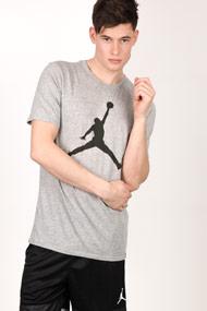 Jordan - T-Shirt - Heather Grey + Black