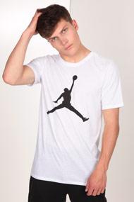 Jordan - T-Shirt - White + Black