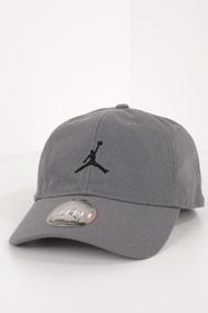 Jordan - Strapback Cap - Dark Grey + Black