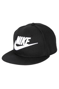 Nike - Snapback Cap - Black + White