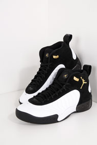 Jordan - Jumpman Basketballschuhe - White + Black