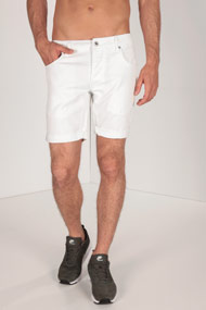 Solid - Jeansshorts - Offwhite