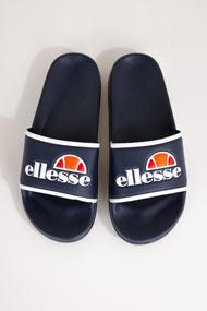 Ellesse - Badesandalen - Navy Blue + White