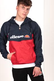 Ellesse - Windjacke - Red + Navy Blue