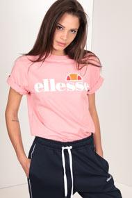 Ellesse - T-Shirt - Rose + White