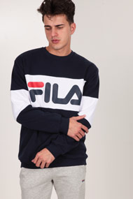 Fila - Sweatshirt - Navy Blue + White + Red