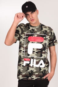 Fila - T-Shirt - Camouflage