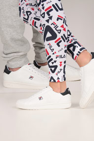 Fila - Crosscourt2 Sneaker low - White + Navy Blue