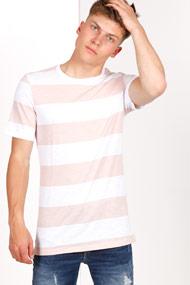 Jack & Jones Premium - T-Shirt - Offwhitwe + Old Rose