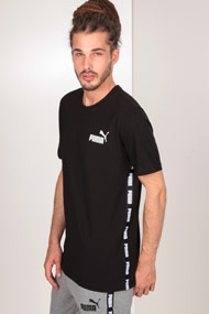 Puma - T-Shirt - Black + White