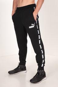 Puma - Pantalon en sweat - Black + White