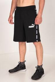 Puma - Short en sweat - Black + White