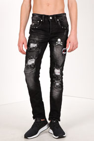 Reset - Jean slim fit - Black Used