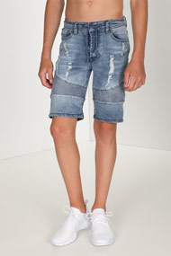 45 RPM - Jeansshorts - Light Blue