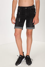 45 RPM - Short en jean - Black