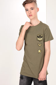 45 RPM - T-Shirt - Olive Green