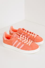 adidas Originals - Campus Sneaker low - Coral + Salmon