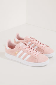 adidas Originals - Campus Sneaker low - Rose + White
