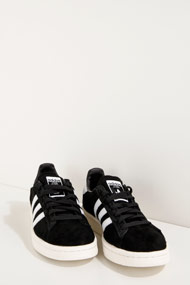 adidas Originals - Campus Sneaker low - Black + White