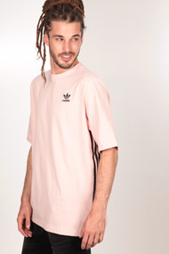 adidas Originals - Oversize T-Shirt - Rose + Black