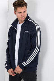 adidas Originals - Leichte Jacke - Navy Blue + White