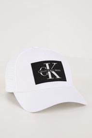 Calvin Klein - Snapback Cap - White + Black