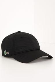 Lacoste - Scratchback Cap - Black