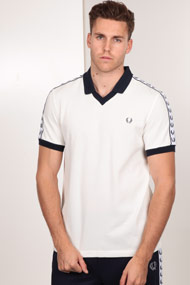 Fred Perry - Poloshirt - Offwhite