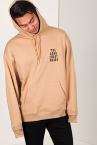 Adon - Sweatshirt à capuchon - Beige + Black