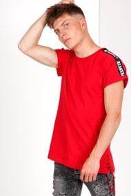 BlackSalt - T-Shirt - Red + Black