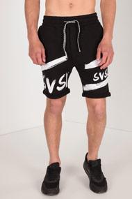 SVSL by Luca Hänni - Sweatshorts - Black + White