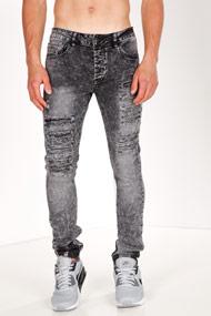 BlackSalt - Jean skinny - Black Washed