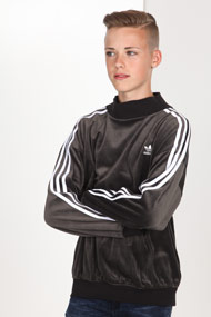 adidas Originals - Samt Sweatshirt - Anthracite + White