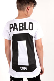 Uniplay - T-Shirt - White + Black