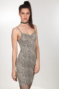 Bae - Robe bodycon - Leo