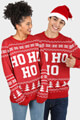 Jack & Jones - Weihnachtspullover - Red