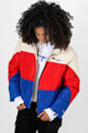 Champion - Veste matelassée - Offwhite + Red + Blue