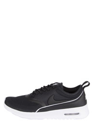 Nike - Air Max Thea sneakers basses - Black + White