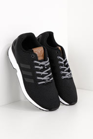 adidas Originals - ZX Flux chaussures de course - Black + White