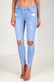 Tally Weijl - Skinny Jeans - Light Blue