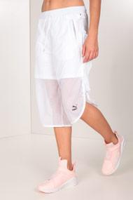 Puma - Short en mesh - White