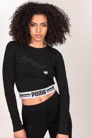 Puma - Shirt court - Black + White