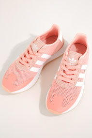 adidas Originals - Flashback Sneaker Low - Light Coral + White