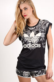 Adidas Originals - T-Shirt - Black + Offwhite