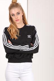 Adidas Originals - Sweatshirt - Black + White