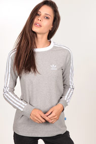 adidas Originals - Langarmshirt - Heather Light Grey