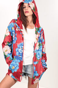 adidas Originals - Windjacke - Red + Multicolor