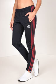 adidas Originals - Pantalon de jogging - Navy Blue + Bordeaux