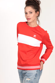 adidas Originals - Sweatshirt - Red + White